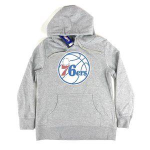 Philadelphia 76ers NBA Fanatics Youth Gray Hoodie
